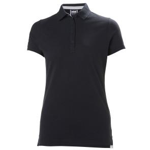 Koszulka bawełniana damska Helly Hansen Crew Pique 2 Polo