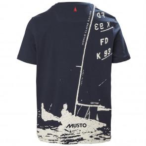 Koszulka bawełniana męska MUSTO FD K93 T-SHIRT