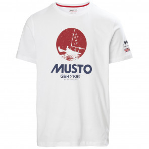 T-shirt bawełniany męski MUSTO TOKYO T-SHIRT